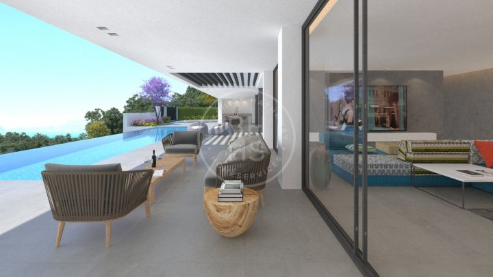 Stunning south-west facing off-plan villa located in La Reserva de Alcuzcuz, Benahavis.