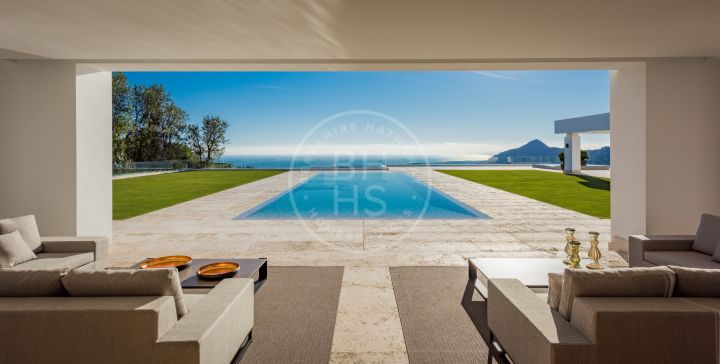 Impressive brand new villa located in the most prestigious urbanisation in Europe, La Zagaleta, Benahavis