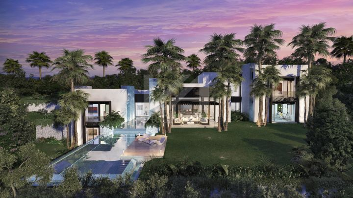 Spectacular contemporary off-plan villa located in the renown Cascada de Camojan in Marbella.
