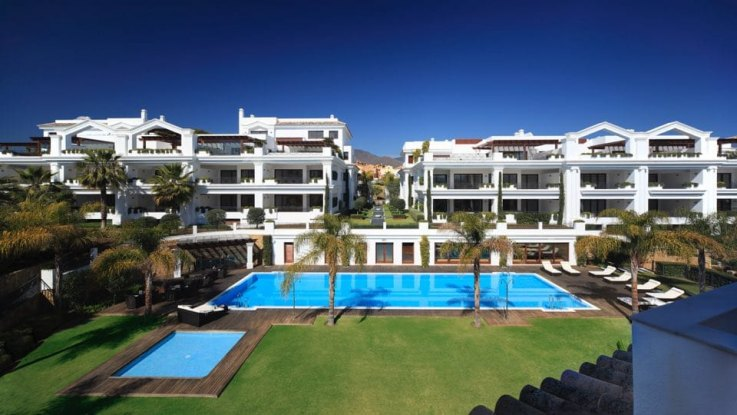 Moderne apartments in Marbella, Costa del Sol