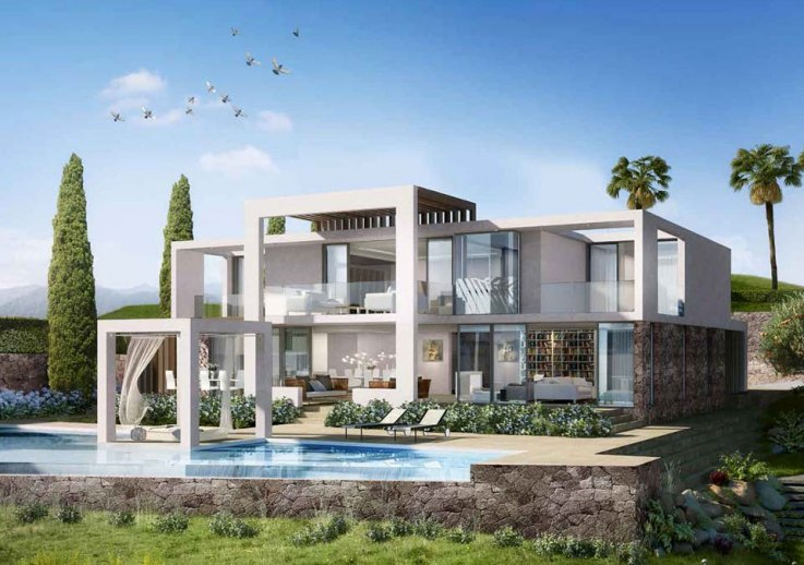 Modern property developments Marbella