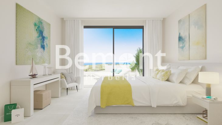 Fantastic Penthouse With Open Sea Views In Marbella West