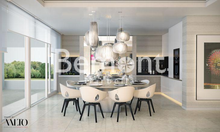 luxueuse villa sur plan vendre nueva andalucia marbella. Black Bedroom Furniture Sets. Home Design Ideas