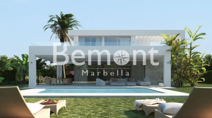 Nouvelle villa de luxe moderne à Marbella Est à vendre