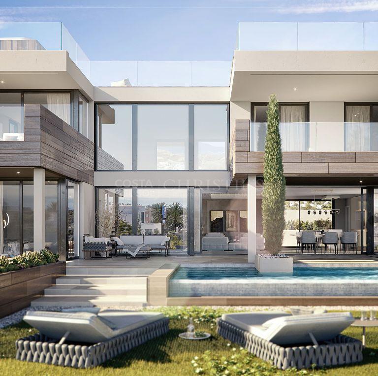 Contemporary style Villa Golden in Oceanic, La Duquesa