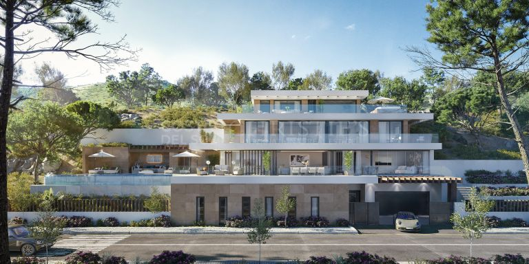 Villa C1 with panoramic views in The Secret Marbella, Real de la Quinta