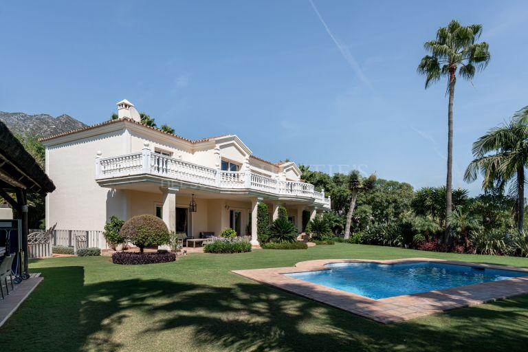 Fabulosa villa en Sierra Blanca, Marbella