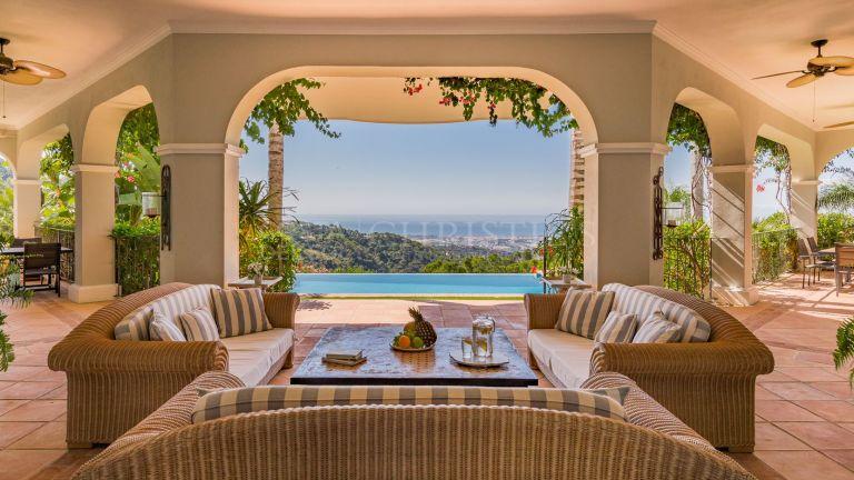 Beautifully landscaped villa in La Zagaleta, Marbella