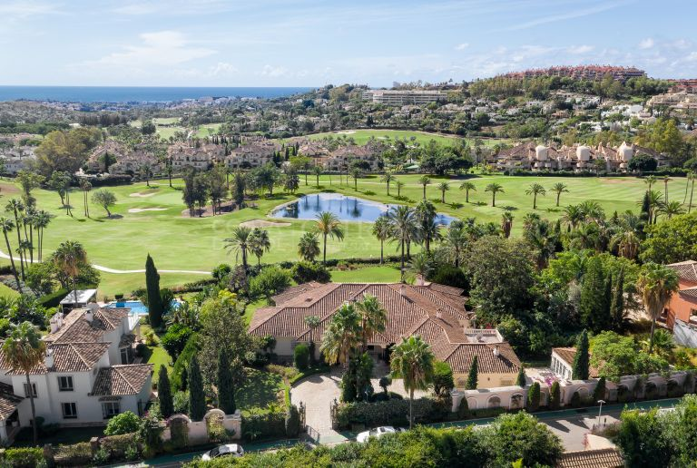 Frontline golfbaan Villa La Cerquilla, Nueva Andalucia