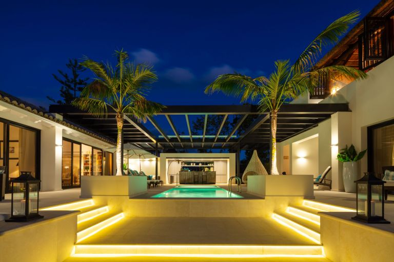 Resort style mansion in gated community