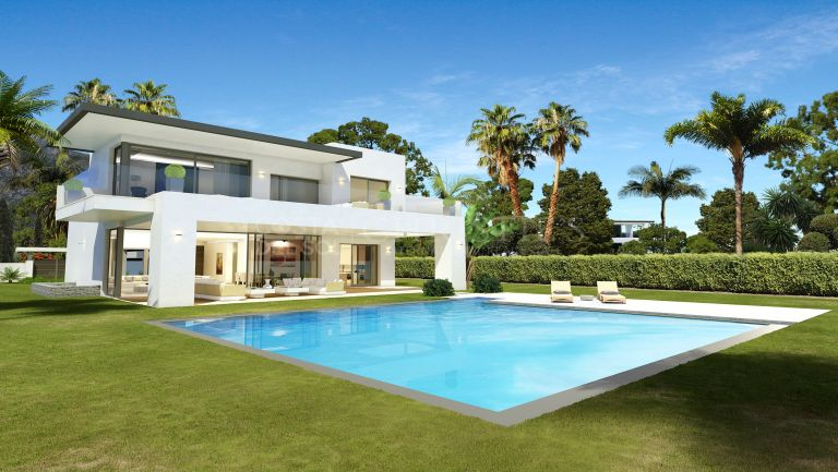 Luxurious Villa in the Golden Mile, Marbella