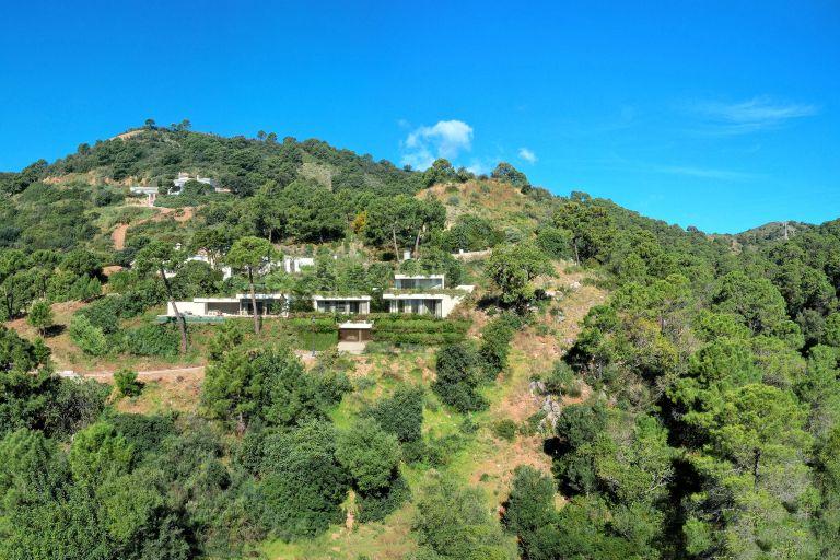 Natural environment in Vitae Villa in Monte Mayor, Benahavís