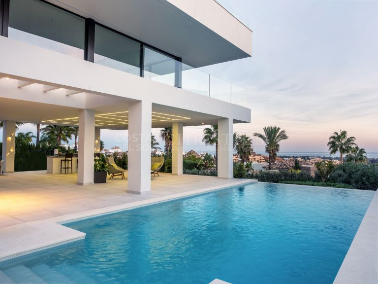Villa de lujo moderna en La Alquería, Benahavís