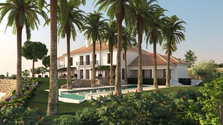 Finca Cortesin - Golfside Villa 13.