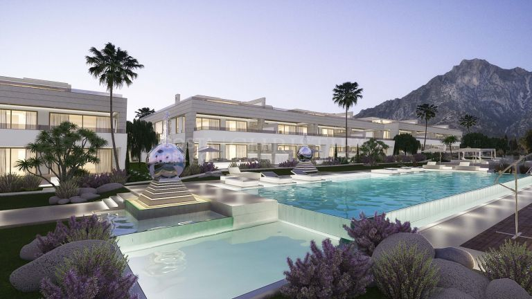 Luxurious apartment in Marbella Golden Mile, Marbella