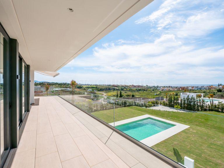 Breathtaking views from Villa Cancelada, Estepona.