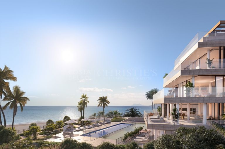 Frontline Beach Duplex Penthouse, Estepona