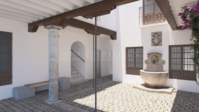 Apartment for sale in an 18th century building in the Historic Center of Malaga