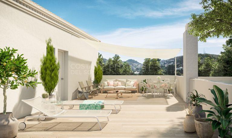 Penthouse in unique building in El Limonar, Malaga