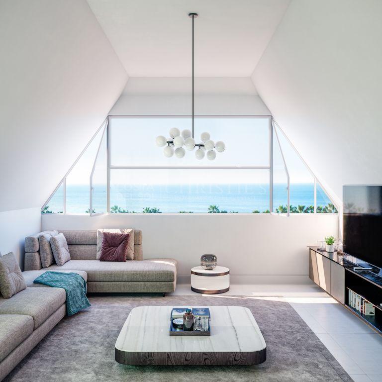 Penthouse te koop in El Limonar, Malaga - Este