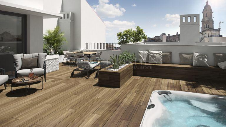 Duplex Penthouse for sale in Centro Histórico, Malaga