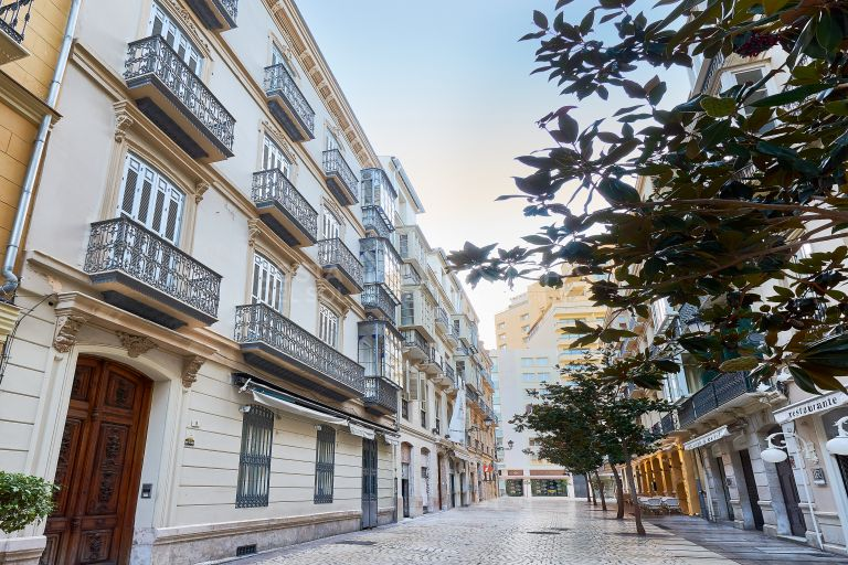 Elegant apartment in the Historic Center of Málaga
