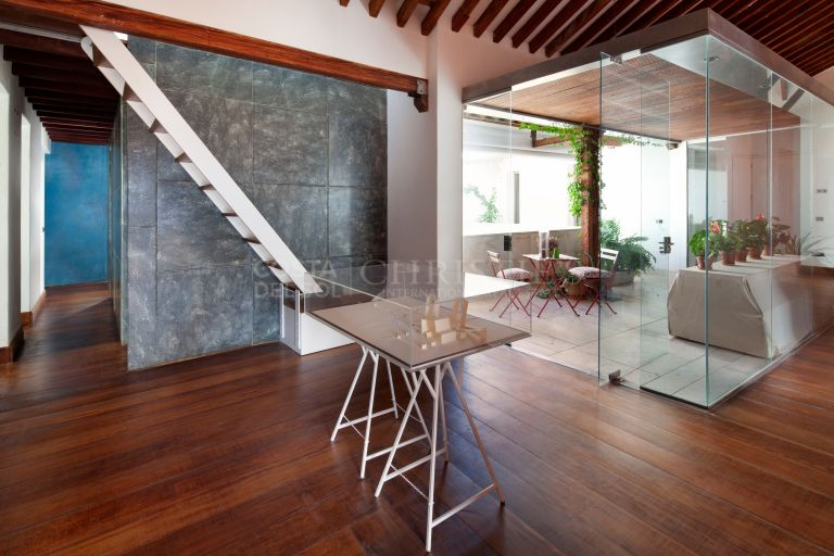 Exclusive Author's penthouse in the heart of the Historic Center of Malaga