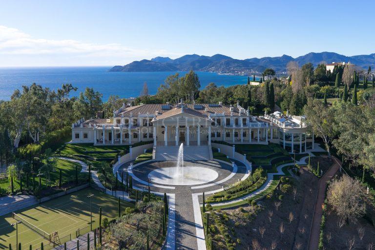 Deslumbrante palacio veneciano en Cannes, Francia