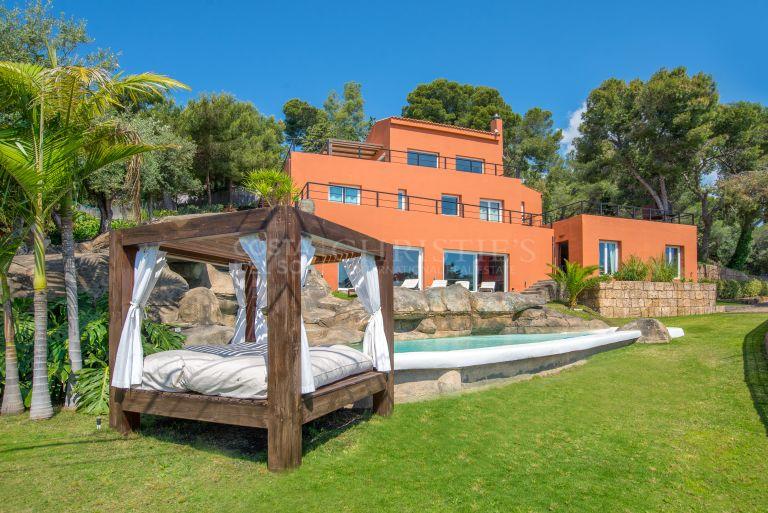 Villa Los Algarrobos. Benalmádena Costa