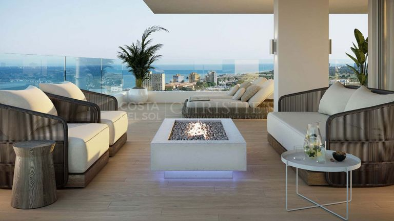 Luxurious 2 bedroom apartment in the best building in Malaga