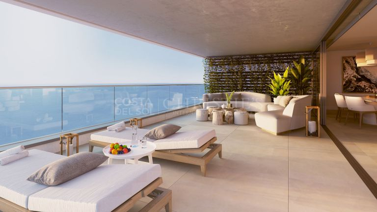 Luxurious 3 bedroom apartment in the best building in Malaga