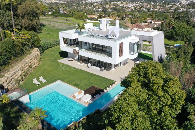 Design villa in de Golfvallei, Nueva Andalucia