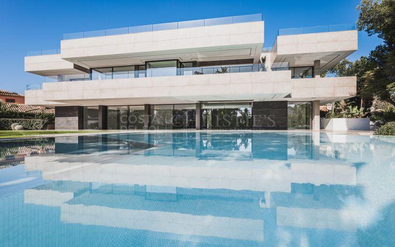 Ultra-modern beachside villa in Casasola, Estepona