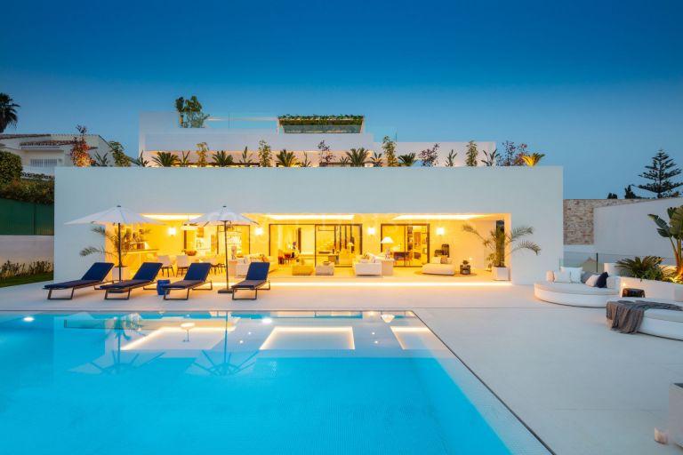 Design villa in Aloha, Marbella