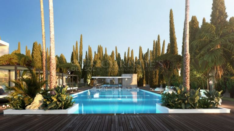 Marvelous semi-detached villa in Golden Mile, Marbella