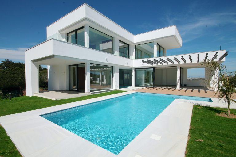 Newly finished villa