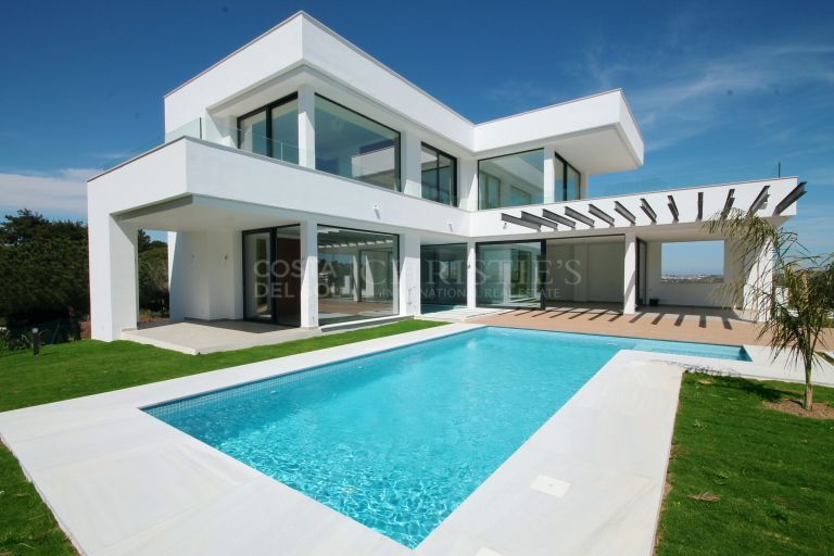 Newly finished villa