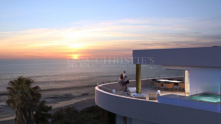 Dazzling penthouse in Mijas
