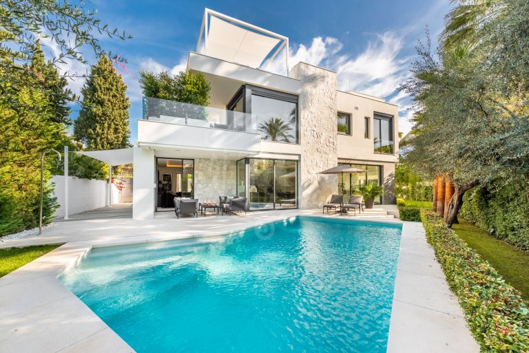 Brand new marvellous villa in Casablanca, Marbella Golden Mile