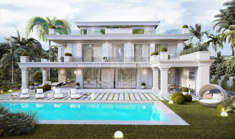Brand new sophisticated villa in Las Lomas de Marbella club