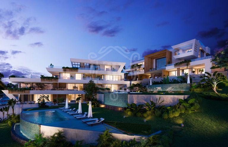 Impresionante apartamento en primera línea de golf en Cabopino, Marbella Este - Marbella Sunset