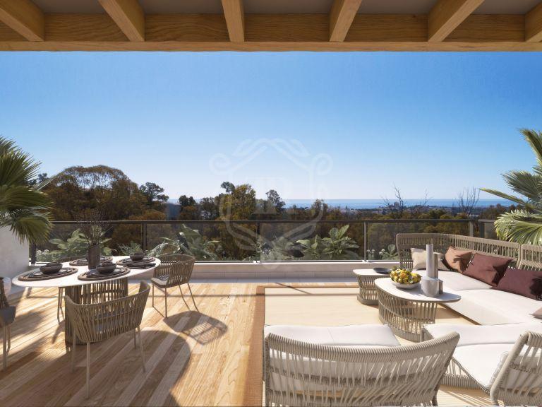 Fantástico ático de 3 habitaciones con vistas panorámicas en Nueva Andalucia - Marbella Lake