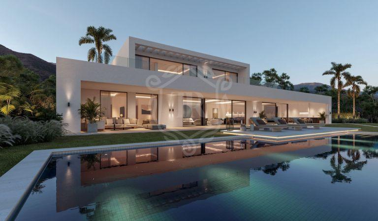 Villa contemporánea a estrenar en Rocío de Nagüeles, Milla de Oro de Marbella