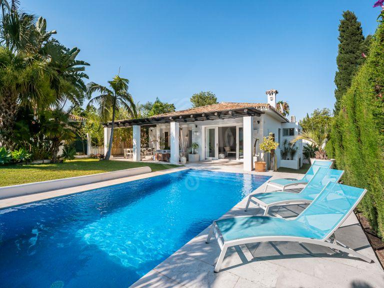 Renovated family villa next to golf in Guadalmina Alta, Marbella