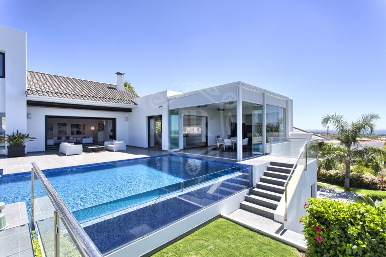 Contemporary luxury Villa Los Flamingos Golf, Benahavís