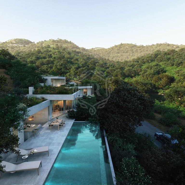 Villa de diseño único en Monte Mayor Country Club, Benahavís