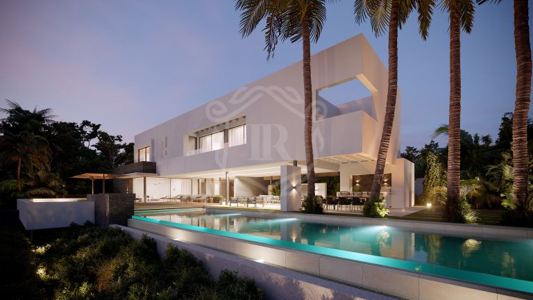 Brand new stylish modern villa in La Alqueria, Benahavis
