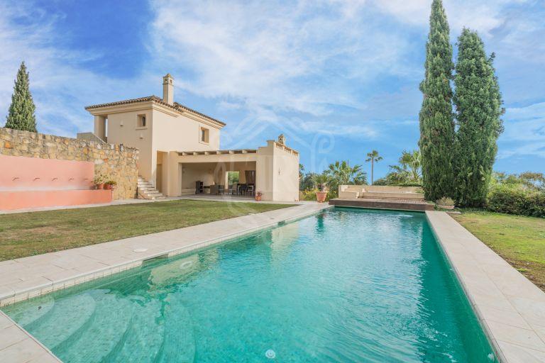 Magnífica villa en estilo Mediterráneo en Sotogrande