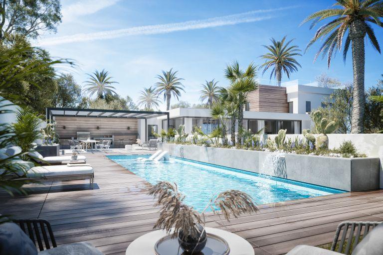 Exceptional classy villa in Nueva Andalucía Golf Valley, Marbella