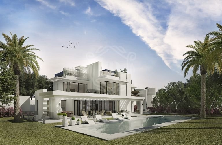 OUTSTANDING BRAND NEW VILLA WITH SEA VIEWS IN LOS FLAMINGOS